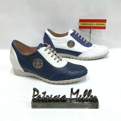 zapato cordones cuña patricia miller